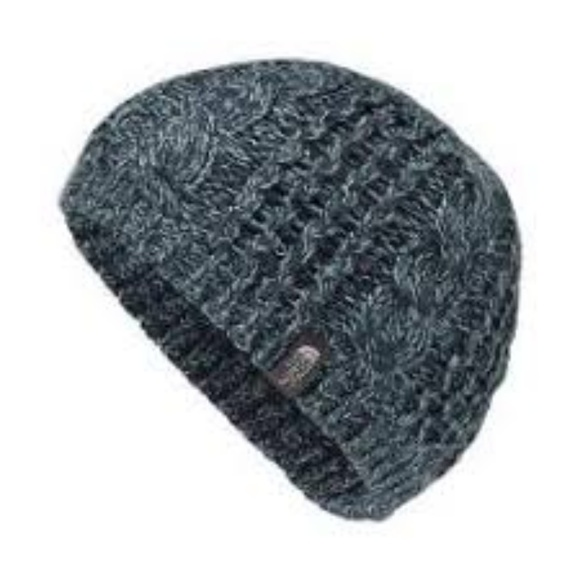 cb49226c1cb The North Face Ink Blue Cable Knit Beanie Hat. NWT